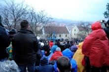 Medjugorje: pellegrini in preghiera presso la Croce Blu – Foto di Sardegna Terra di Pace – Tutti i diritti riservati