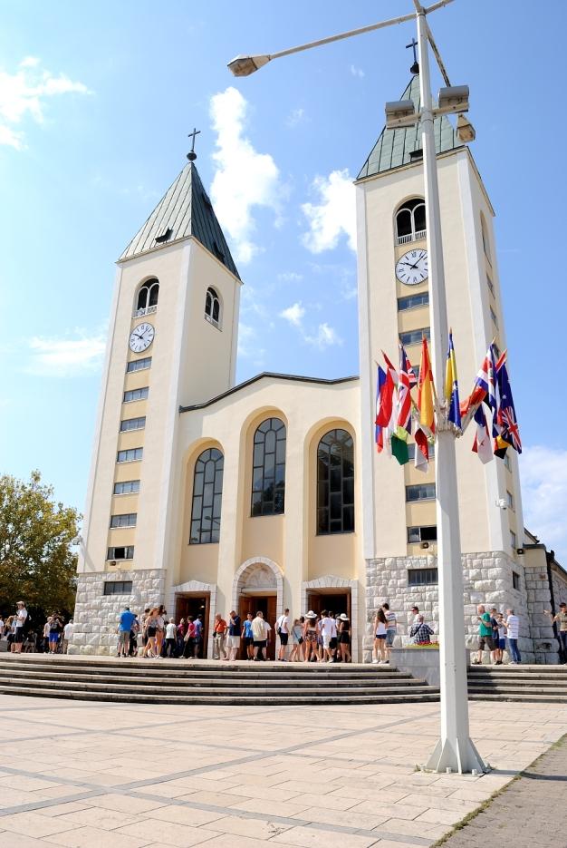 Medjugorje: chiesa di San Giacomo Apostolo - Foto di Sardegna Terra di Pace - Tutti i diritti riservati