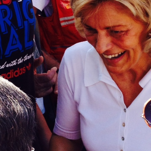 Medjugorje, 2 Agosto 2014: il sorriso di Mirjana - Foto di Gospodine - Tutti i diritti riservati