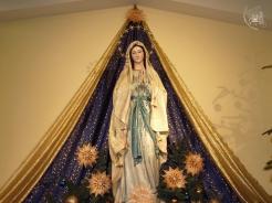 Medjugorje, Capodanno 2010: Madonna di Lourdes interna alla chiesa di San Giacomo - Foto di Sardegna Terra di pace - Tutti i diritti riservati