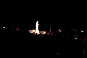 Medjugorje: notte della apparizione straordinaria sul Podbrdo (2) – Foto di Sardegna Terra di Pace – Tutti i diritti riservati