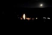 Medjugorje: notte della apparizione straordinaria sul Podbrdo – Foto di Sardegna Terra di Pace – Tutti i diritti riservati