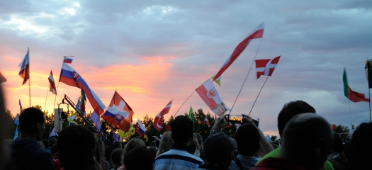 Medjugorje: tramonto - Foto di Sardegna Terra di Pace - Tutti i diritti riservati