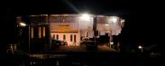 Medjugorje: Veduta notturna del retro della Chiesa di San Giacomo (2) - Foto di Sardegna Terra di Pace - Tutti i diritti riservati