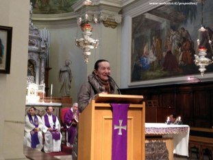 Udine, 8 Marzo 2013: Vicka al funerale di Giovanni Vecchiato - Foto di Gospodine - Tutti i diritti riservati