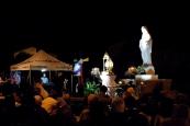 San Nicolò d'Arcidano, 25 Settembre 2014: lo sguardo della Gospa veglia sui fedeli - Foto di Sardegna Terra di Pace - Tutti i diritti riservati