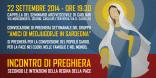 Locandina Incontro di Preghiera Settimanale del 22 Settembre 2014