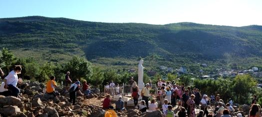 Medjugorje, Esaltazione della Croce 2014: Collina delle Apparizioni (2) – Foto di Sardegna Terra di Pace – Tutti i diritti riservati