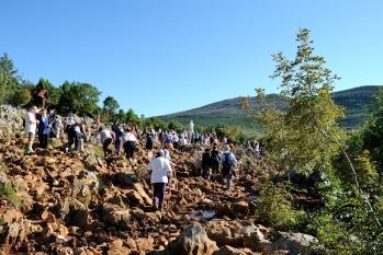 Medjugorje, Esaltazione della Croce 2014: Collina delle Apparizioni (3) – Foto di Sardegna Terra di Pace – Tutti i diritti riservati