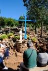 Medjugorje, Esaltazione della Croce 2014: in preghiera presso la Croce Blu – Foto di Sardegna Terra di Pace – Tutti i diritti riservati