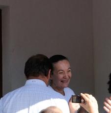 Medjugorje, Esaltazione della Croce 2014: la veggente Vicka – Foto di Sardegna Terra di Pace – Tutti i diritti riservati
