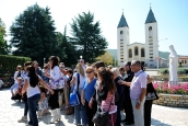 Medjugorje, Esaltazione della Croce 2014: pellegrini sardi – Foto di Sardegna Terra di Pace – Tutti i diritti riservati