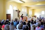 Medjugorje, Esaltazione della Croce 2014: Santa Messa da Suor Cornelia – Foto di Sardegna Terra di Pace – Tutti i diritti riservati