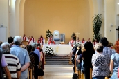 Medjugorje, Esaltazione della Croce 2014: Santa Messa presieduta da un Sacerdote del nostro gruppo – Foto di Sardegna Terra di Pace – Tutti i diritti riservati