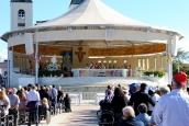 Medjugorje, Esaltazione della Croce 2014: Santa Messa presso l'Altare esterno (2) – Foto di Sardegna Terra di Pace – Tutti i diritti riservati