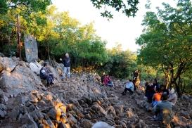 Medjugorje, Esaltazione della Croce 2014: Stazione della Via crucis sul Krizevak – Foto di Sardegna Terra di Pace – Tutti i diritti riservati