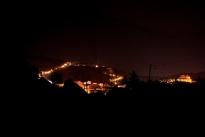 Medjugorje, Esaltazione della Croce 2014: veduta notturna del Podbrdo – Foto di Sardegna Terra di Pace – Tutti i diritti riservati