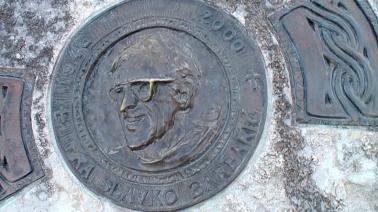 Medjugorje: luogo della morte di padre Slavko Barbarić sul monte Križevac (3) – Foto di Sardegna Terra di Pace – Tutti i diritti riservati