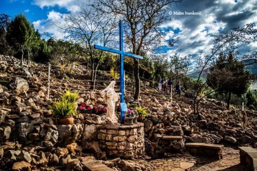 Medjugorje: Croce Blu (3) - Foto di Mateo Ivanković – Tutti i diritti riservati