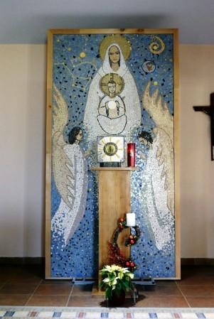 Medjugorje, Capodanno 2015: cappella dell'adorazione presso il Villaggio della Madre – Foto di Sardegna Terra di pace – Tutti i diritti riservati