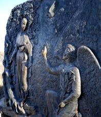 Medjugorje, Capodanno 2015: formella dell'Annunciazione – Foto di Sardegna Terra di pace – Tutti i diritti riservati