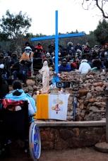 Medjugorje, Capodanno 2015: in attesa della apparizione del 2 Gennaio (3) – Foto di Sardegna Terra di pace – Tutti i diritti riservati