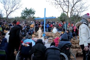 Medjugorje, Capodanno 2015: in attesa della apparizione del 2 Gennaio (4) – Foto di Sardegna Terra di pace – Tutti i diritti riservati
