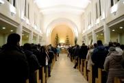 Medjugorje, Capodanno 2015: interno della Chiesa di San Giacomo (2) – Foto di Sardegna Terra di pace – Tutti i diritti riservati