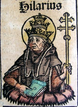 Illustrazione di Sant'Ilario - Opera di Hartmann Schedel (foto di Chris 73) - Tutti i diritti riservati