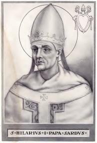 Illustrazione di Sant'Ilario - Opera di Chevalier Artaud de Montor (foto di Bede735c) - Tutti i diritti riservati