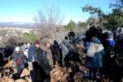 Medjugorje, Capodanno 2015: salita al Podbrdo (2) – Foto di Sardegna Terra di pace – Tutti i diritti riservati