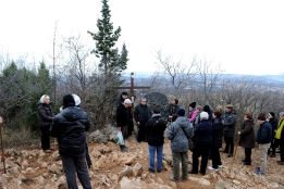 Medjugorje, Capodanno 2015: salita al Podbrdo (6) – Foto di Sardegna Terra di pace – Tutti i diritti riservati