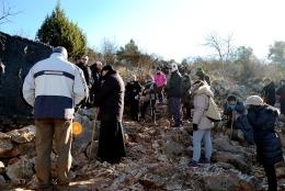 Medjugorje, Capodanno 2015: salita al Podbrdo (1) – Foto di Sardegna Terra di pace – Tutti i diritti riservati