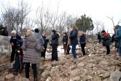 Medjugorje, Capodanno 2015: Salita sul Križevac (6) – Foto di Sardegna Terra di pace – Tutti i diritti riservati