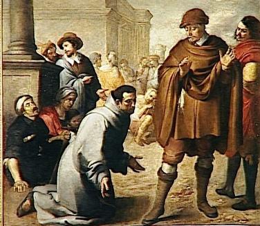 San Salvatore da Horta davanti all'inquisitore d'Aragona - Opera di Bartolomé Esteban Murillo (foto di Tanja5) - Tutti i diritti riservati