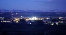 Medjugorje, Capodanno 2015: Veduta panoramica di Medjugorje – Foto di Sardegna Terra di pace – Tutti i diritti riservati