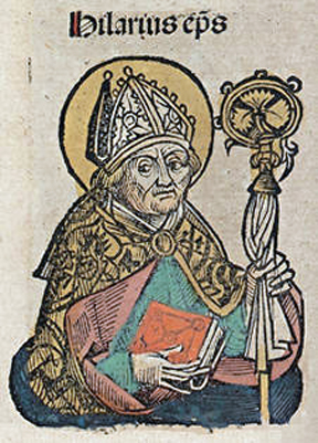Illustrazione di Sant'Ilario - Opera di Michael Wolgemut (foto di Bede735c) - Tutti i diritti riservati