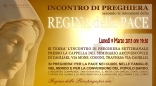 Locandina Incontro di Preghiera Settimanale del 9 Marzo 2015