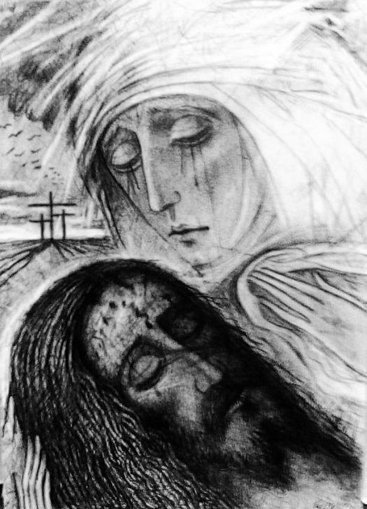 La Pietà di Kiko Arguello
