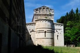 Basilica San Pietro di Sorres: Veduta esterna della Chiesa (5) – Foto di Sardegna Terra di Pace – Tutti i diritti riservati