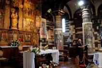 Basilica Nostra Signora del Regno: Momento della catechesi di Mons. Tonino Cabizzosu (2) – Foto di Sardegna Terra di Pace – Tutti i diritti riservati