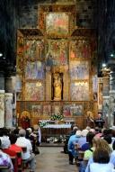 Basilica Nostra Signora del Regno: Retablo maggiore (3) – Foto di Sardegna Terra di Pace – Tutti i diritti riservati