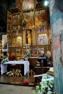 Basilica Nostra Signora del Regno: Momento della catechesi di Mons. Tonino Cabizzosu (3) – Foto di Sardegna Terra di Pace – Tutti i diritti riservati