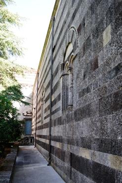 Particolare del monastero di San Pietro di Sorres