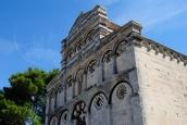 San Pietro di Sorres: Particolare dell'esterno della Basilica (2) – Foto di Sardegna Terra di Pace – Tutti i diritti riservati