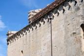 San Pietro di Sorres: Particolare dell'esterno della Basilica – Foto di Sardegna Terra di Pace – Tutti i diritti riservati