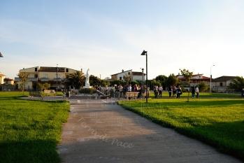 San Nicolò d'Arcidano: Piazza Regina della pace - Foto di Sardegna Terra di Pace – Tutti i diritti riservati