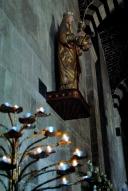 San Pietro di Sorres, statua Regina Mundi (2) – Foto di Sardegna Terra di Pace – Tutti i diritti riservati