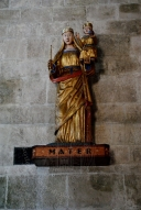 San Pietro di Sorres, statua Regina Mundi – Foto di Sardegna Terra di Pace – Tutti i diritti riservati