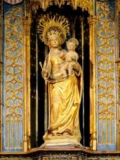 Basilica Nostra Signora del Regno: Statua di Nostra Signora del Regno – Foto di Sardegna Terra di Pace – Tutti i diritti riservati